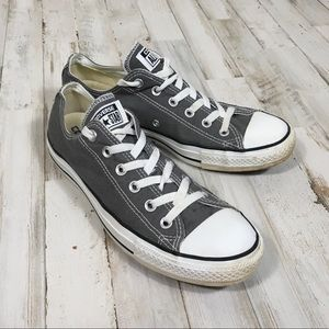 Converse All Stars Tennis Shoes Gray Flats